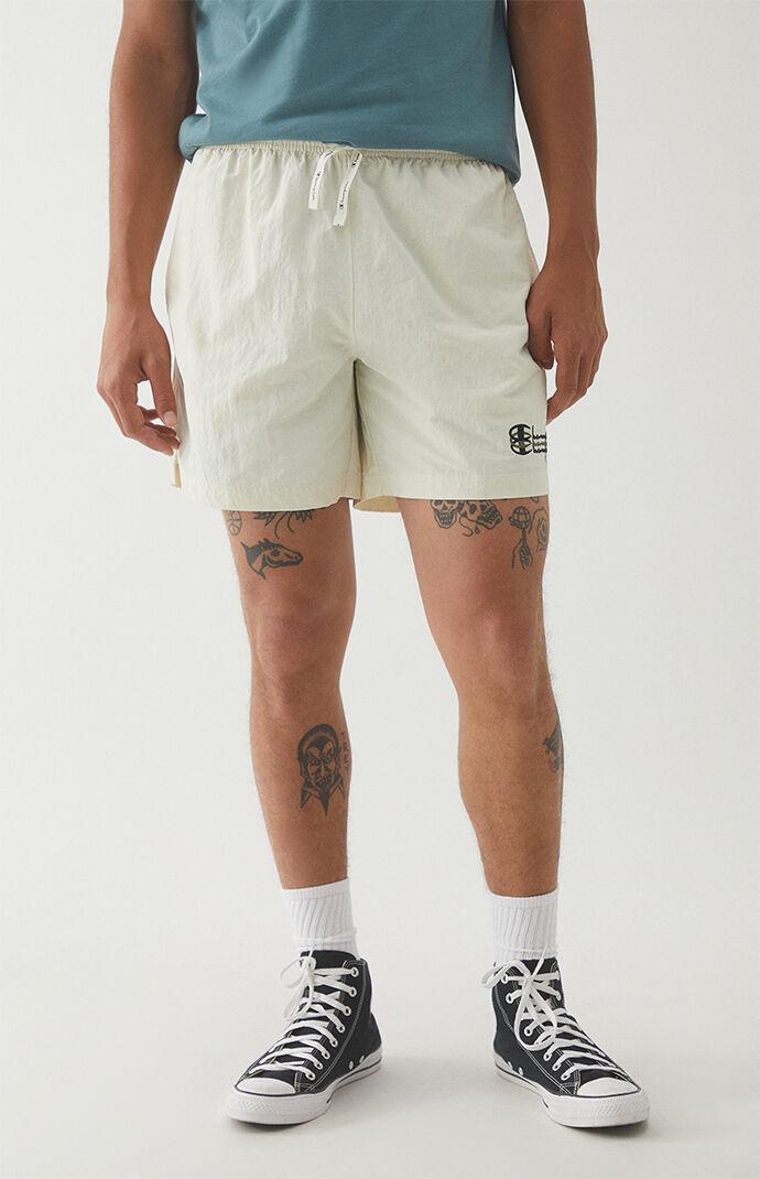 Stacked Nylon Rip Stop Shorts