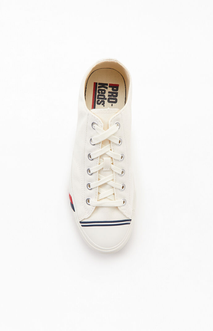White Royal Lo Shoes