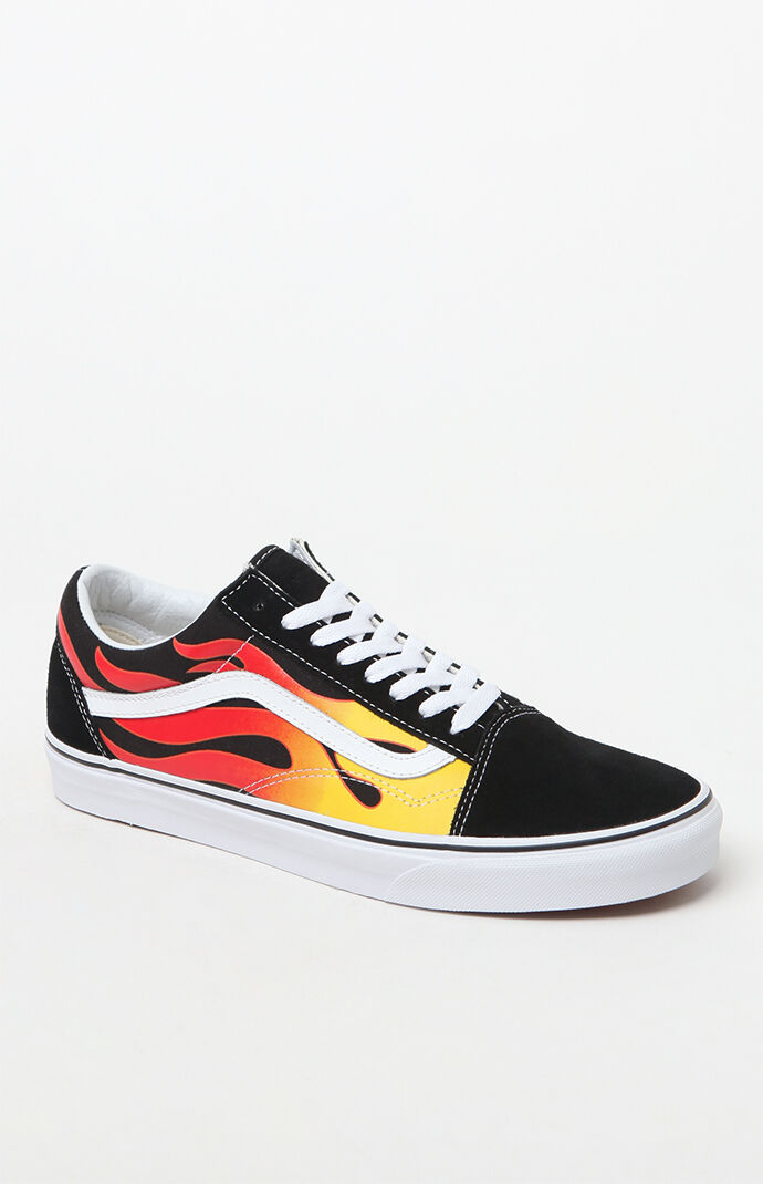 vans old skool flame women