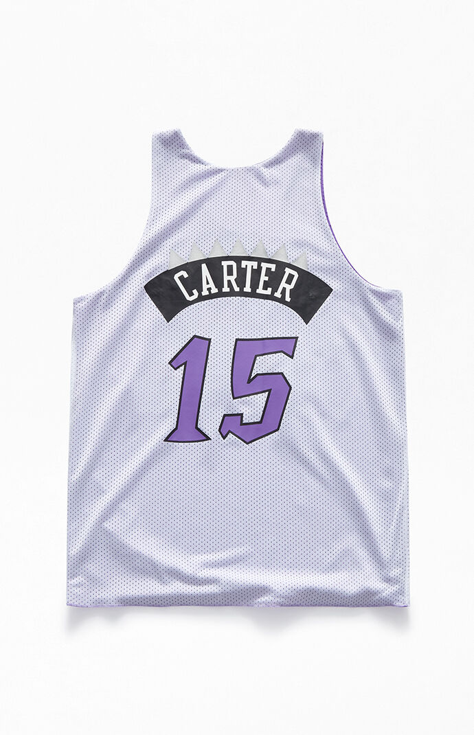 new products 50ea6 9341c Mitchell and Ness Reversible Raptors Carter Jersey | PacSun