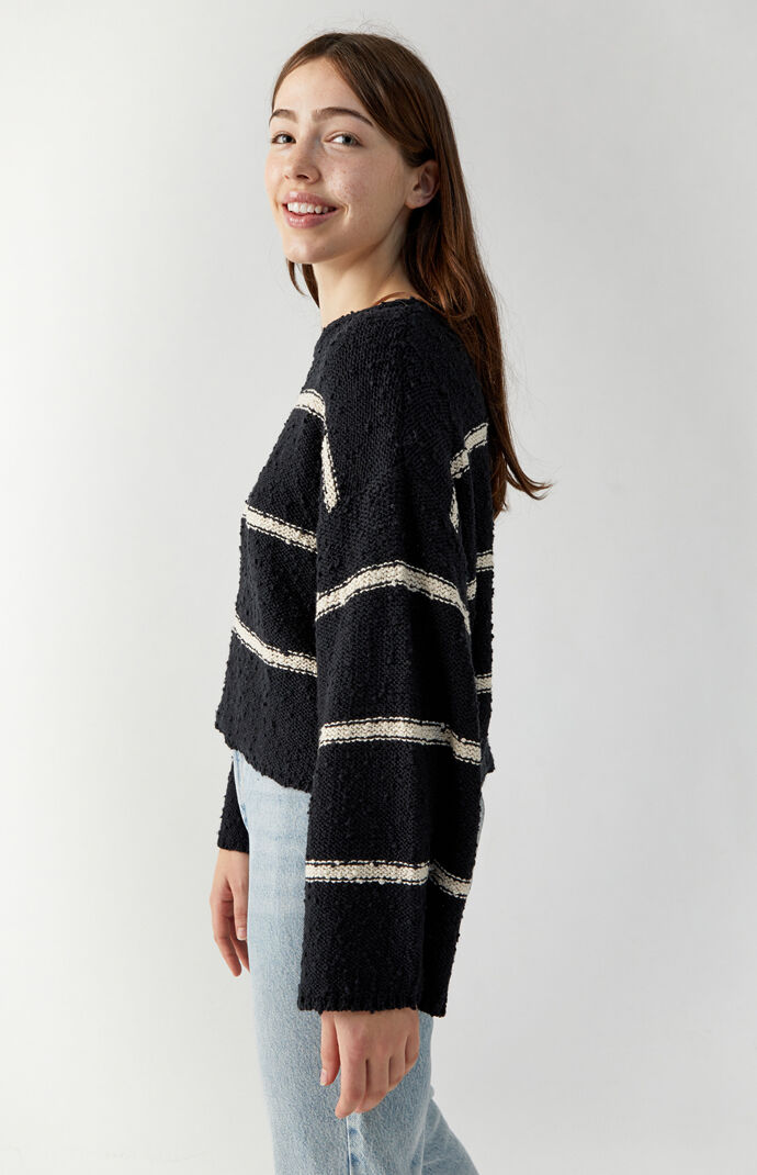 Lined Up Sweater
