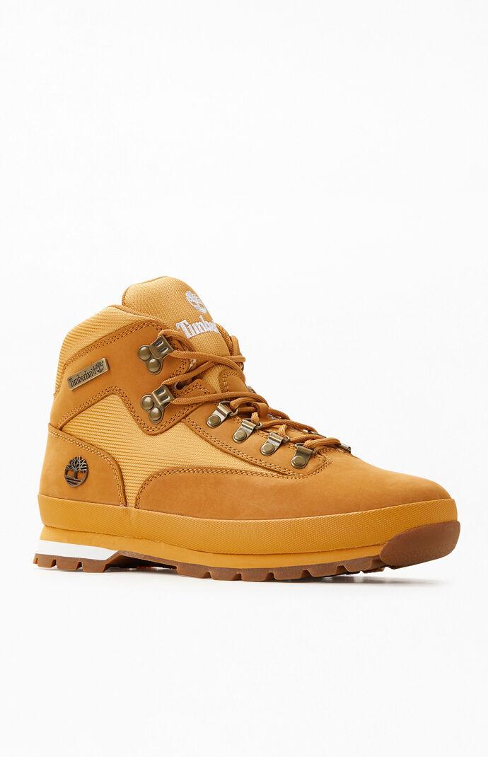 Wheat Euro Hiker Boots