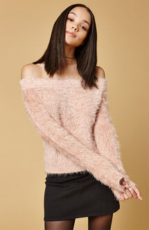 Florentine Off-The-Shoulder Sweater