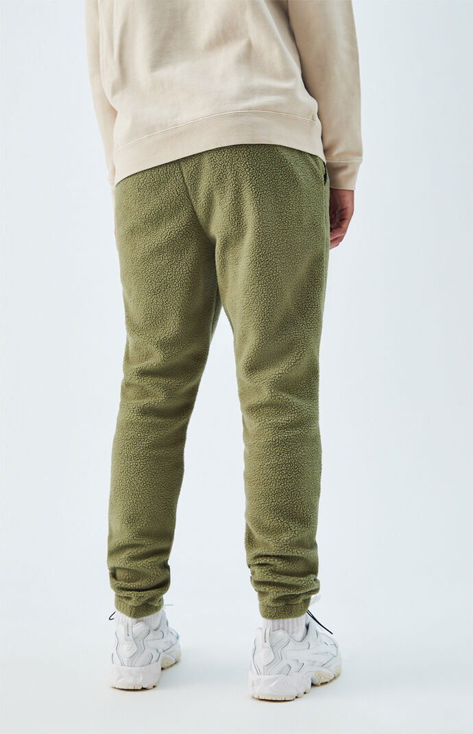 Green Polar Fleece Pants