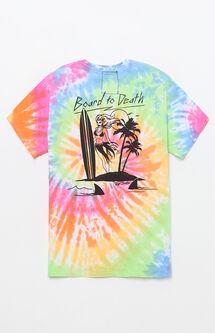 Board To Death Tie-Dye T-Shirt
