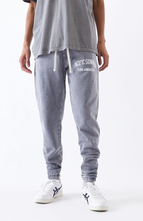 Gray Basic Sweatpants