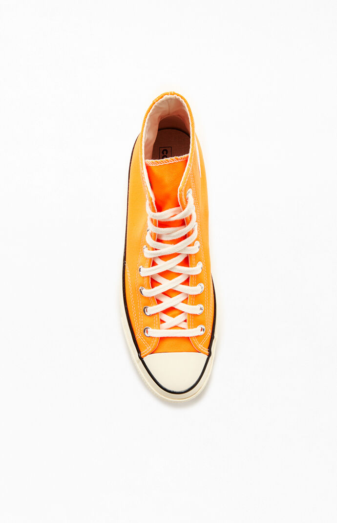 Orange Chuck 70 High Top Shoes