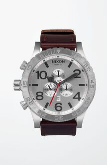 The 51-30 Chrono Leather Watch