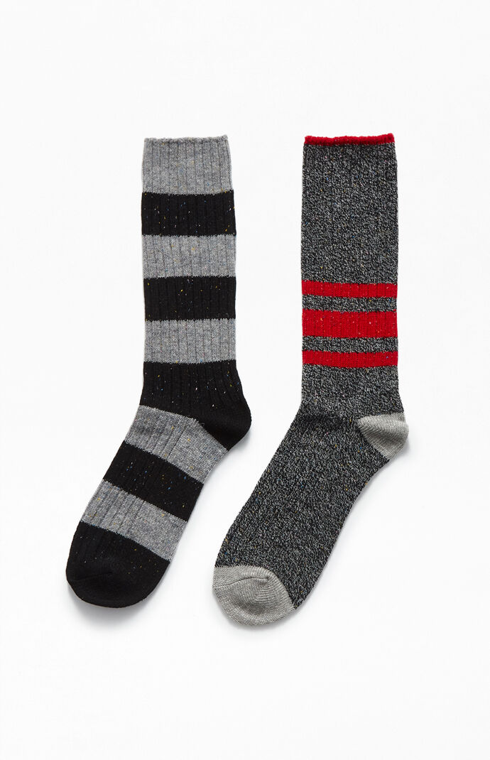 Two-Pack Flag Boot Socks