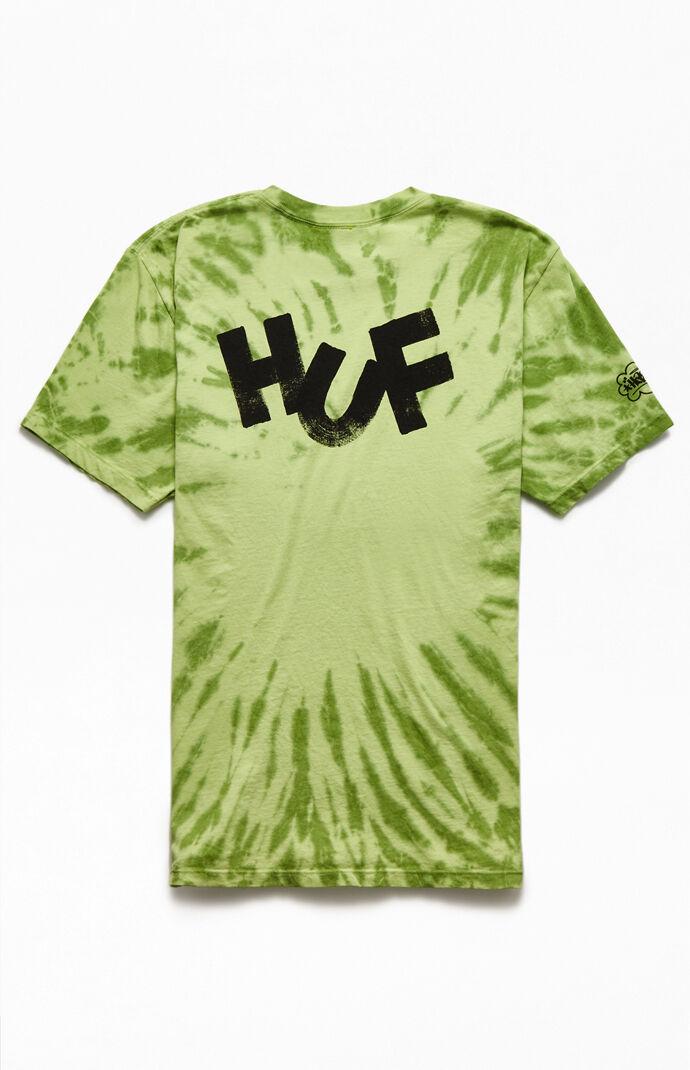 Brush Tie-Dyed T-Shirt