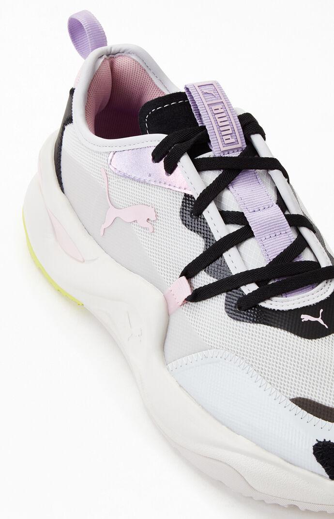 Ivory Women's Rise Rainbow Dash Sneakers