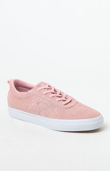 Icon Pink Suede Shoes