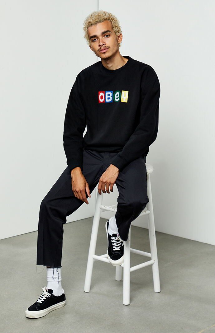 Big Shots Crew Neck Sweatshirt