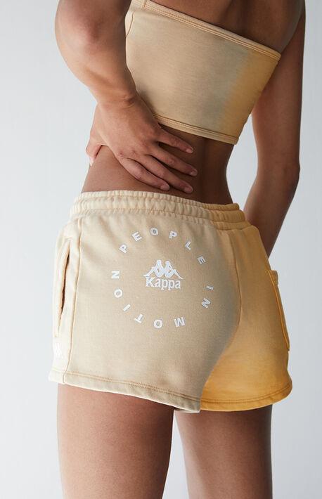 Orange Authentic Makassar Shorts