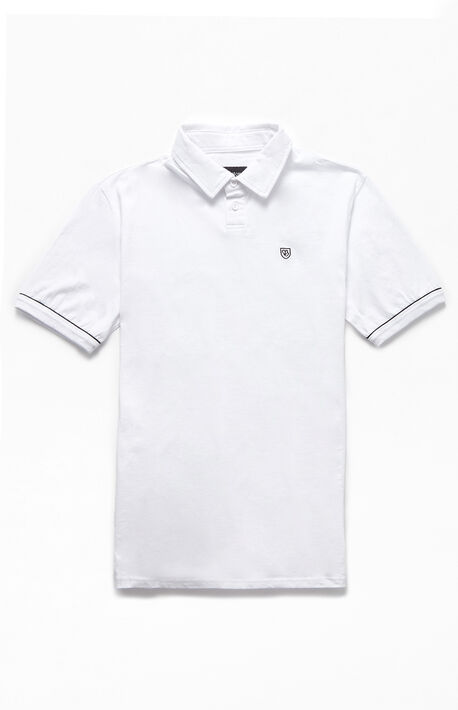 White Carlos Polo Shirt