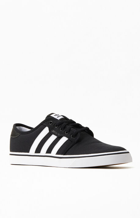 Black & White Seeley Shoes