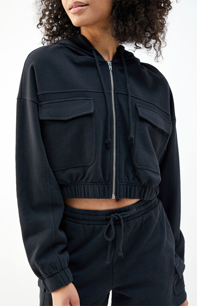 River Cargo Cropped Jacket