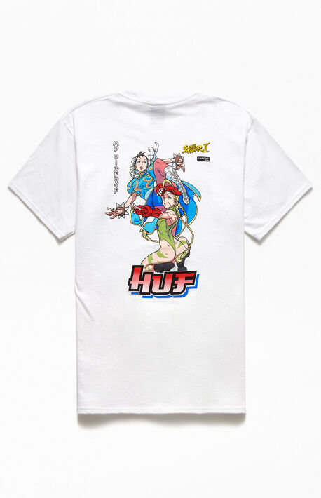 x Street Fighter Chun-Li & Cammy T-Shirt