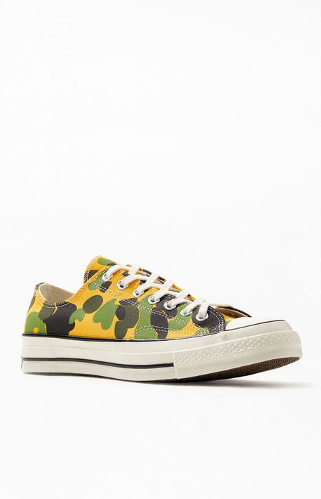 5ac5d72183b4 Camo Chuck 70 Low Shoes