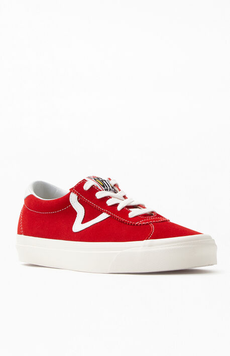fe88b6817c478c Red Anaheim Factory Style 73 DX Shoes · Vans Red Anaheim Factory ...