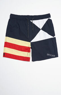 "Nerd Life Let's Get Weird 17"" Swim Trunks"