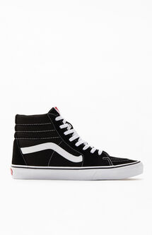 Sk8-Hi Canvas Black & White Shoes