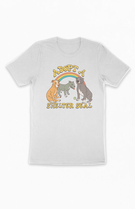 Adopt A Shelter Seal T-Shirt
