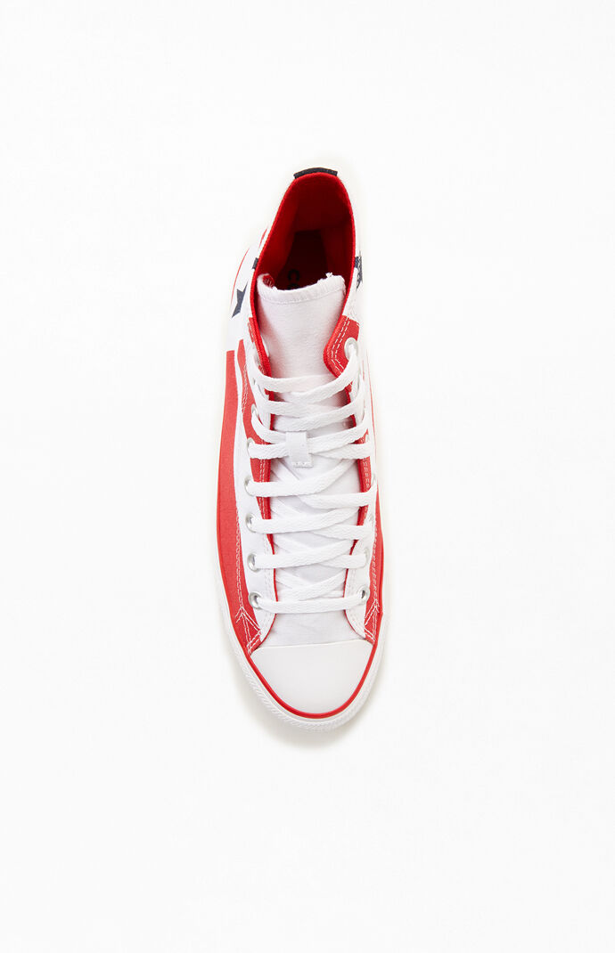 Chuck Taylor All Stars Stars & Stripes High Top Shoes