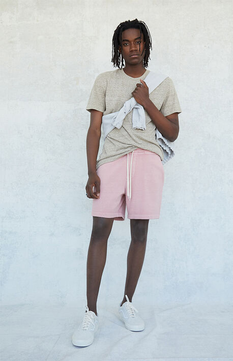 Vintage Dyed Volley Sweat Shorts
