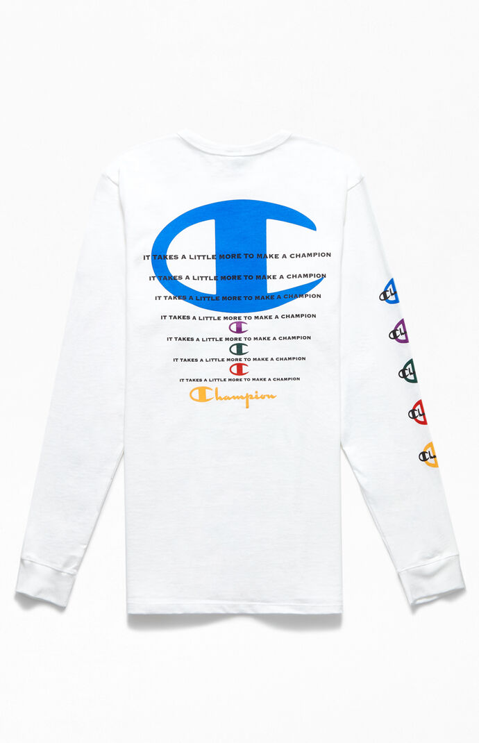 Stacked Heritage Long Sleeve T-Shirt
