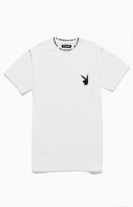By PacSun Collar Logo T-Shirt