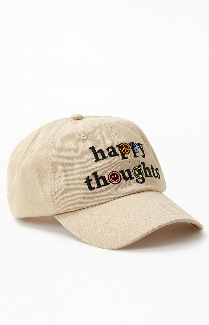 Happy Thoughts Strapback Dad Hat