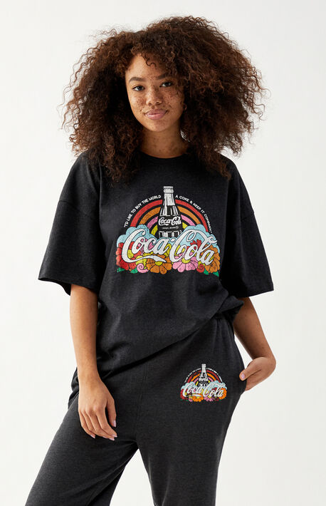 x Coca-Cola Rainbow Flower T-Shirt
