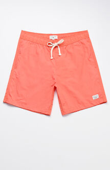 "Oliver Solid Color 18"" Swim Trunks"