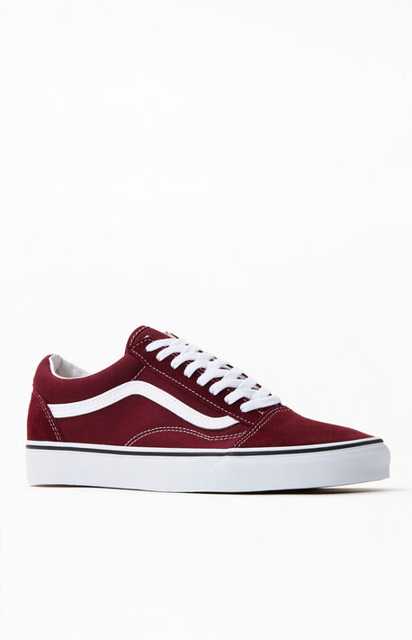 Burgundy Old Skool Shoes
