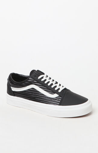 Women's Moto Leather Old Skool Sneakers
