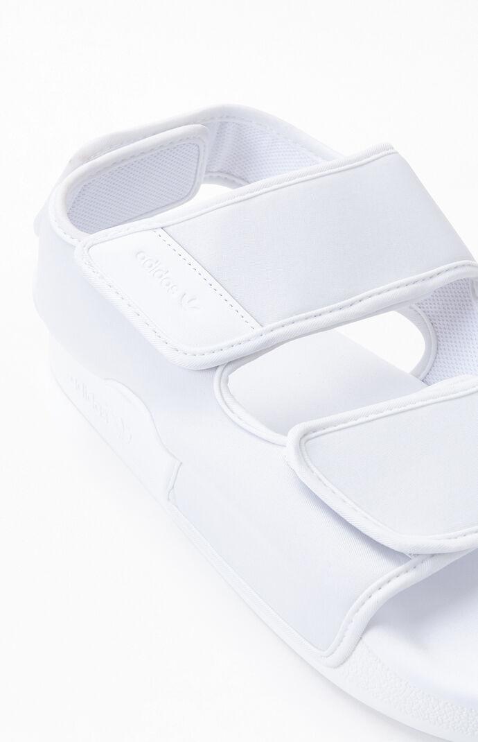 White Adilette 3.0 Sandals