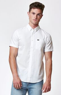 That'll Do Oxford Short Sleeve Button Up Shirt