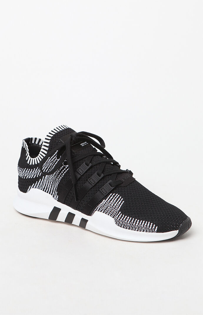 pretty nice 5808e 58649 herrer adidas eqt support adv grå sort eqt support adv primeknit black  white shoes