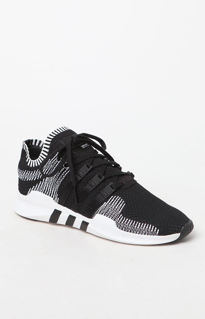 Adidas EQT Support ADV primeknit zapatos en blanco y negro