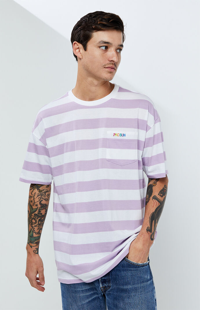 Striped Emmet Oversized T-Shirt