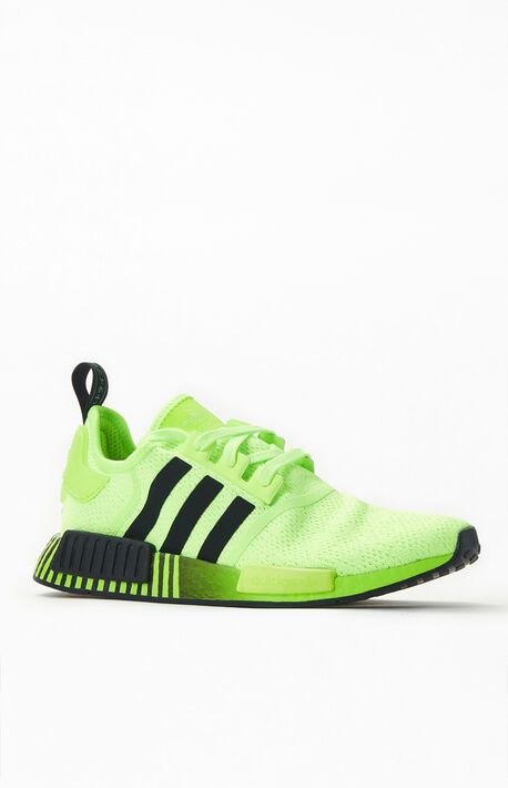 Neon & Black NMD_R1 Shoes