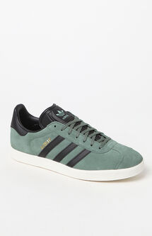 Gazelle Green & Black Shoes