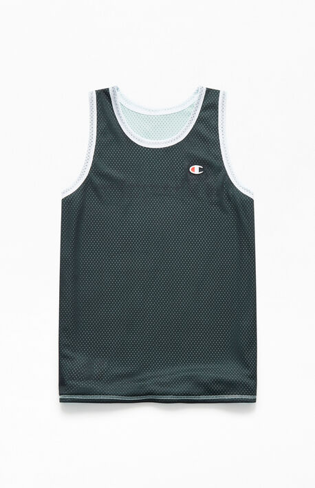 8b7aca7eb374 Reversible Mesh Tank Top