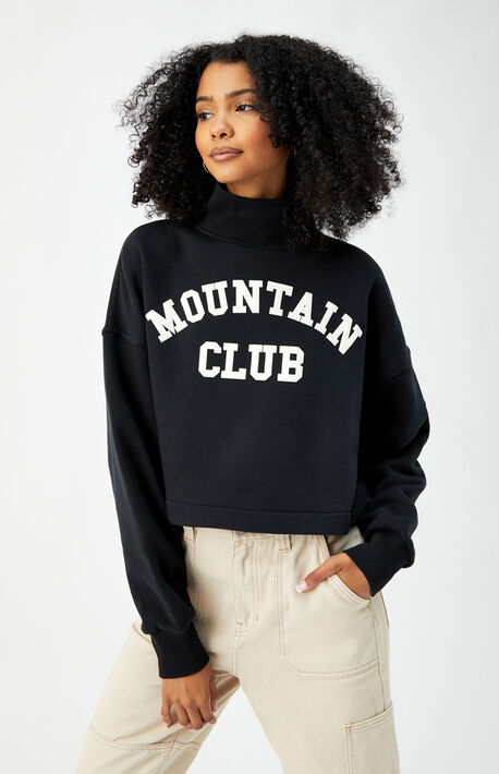 Mountain Club Turtleneck Sweatshirt
