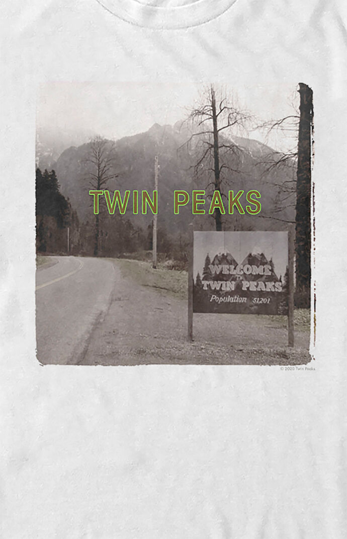 Twin Peaks Welcome Sign T-Shirt