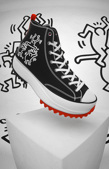 x Keith Haring Run Star Hike High Top Shoes