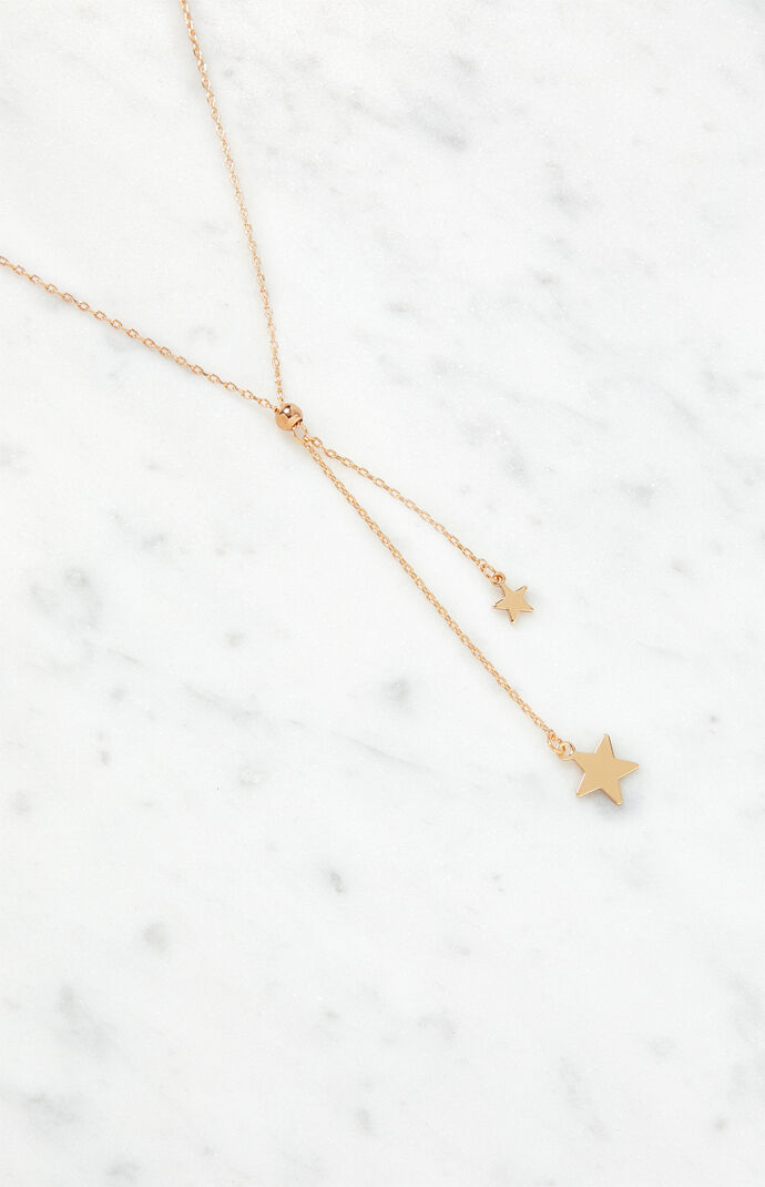 Hanging Stars Necklace