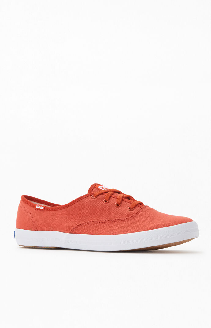 Women's Red Champion Seasonal Solid Sneakers