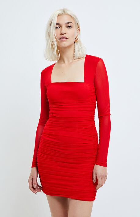 Tasha Mesh Dress